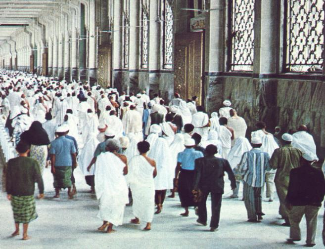 Sa'ey between Safa & Marwa